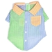 Gingham Colorblock Shirt - wd-ginghamcshirt