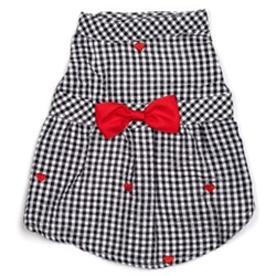 Gingham Hearts Dress  wooflink, susan lanci, dog clothes, small dog clothes, urban pup, pooch outfitters, dogo, hip doggie, doggie design, small dog dress, pet clotes, dog boutique. pet boutique, bloomingtails dog boutique, dog raincoat, dog rain coat, pet raincoat, dog shampoo, pet shampoo, dog bathrobe, pet bathrobe, dog carrier, small dog carrier, doggie couture, pet couture, dog football, dog toys, pet toys, dog clothes sale, pet clothes sale, shop local, pet store, dog store, dog chews, pet chews, worthy dog, dog bandana, pet bandana, dog halloween, pet halloween, dog holiday, pet holiday, dog teepee, custom dog clothes, pet pjs, dog pjs, pet pajamas, dog pajamas,dog sweater, pet sweater, dog hat, fabdog, fab dog, dog puffer coat, dog winter jacket, dog col