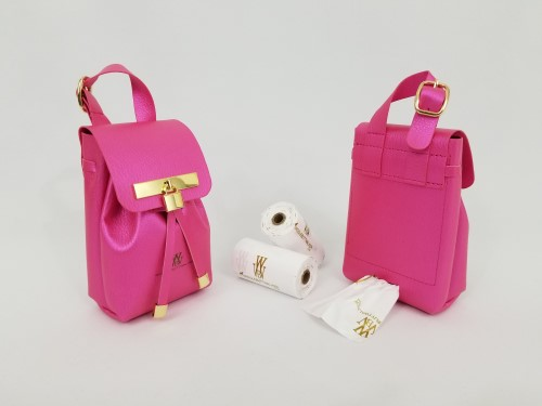 Gold Collection-Fuchsia Pink-Ultimate Poop Bag Dispenser    susan lanci, puppia,wooflink, luxury dog boutique,tonimari,pet clothes, dog clothes, puppy clothes, pet store, dog store, puppy boutique store, dog boutique, pet boutique, puppy boutique, Bloomingtails, dog, small dog clothes, large dog clothes, large dog costumes, small dog costumes, pet stuff, Halloween dog, puppy Halloween, pet Halloween, clothes, dog puppy Halloween, dog sale, pet sale, puppy sale, pet dog tank, pet tank, pet shirt, dog shirt, puppy shirt,puppy tank, I see spot, dog collars, dog leads, pet collar, pet lead,puppy collar, puppy lead, dog toys, pet toys, puppy toy, dog beds, pet beds, puppy bed,  beds,dog mat, pet mat, puppy mat, fab dog pet sweater, dog sweater, dog winter, pet winter,dog raincoat, pet raincoat, dog harn