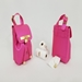 Gold Collection-Fuchsia Pink-Ultimate Poop Bag Dispenser   - wbw-gfucpink