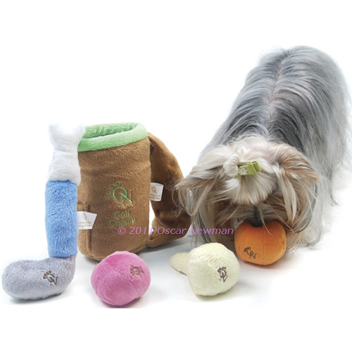 Golf Champ Dog Toy Set - on-golfset