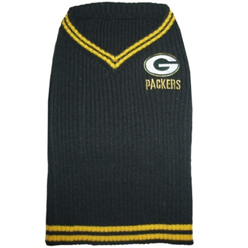 Green Bay Packers Dog Sweater - dn-greenbay-sweater