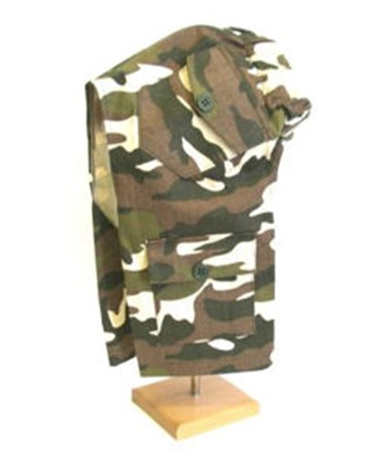 Green Camouflage Cargo Dog  Pants - dogdes-camo-pantsX-GH2