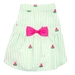 Green Stripe Watermelon Dress - wd-waterdress