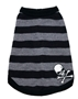 Grey Striped Skull Tank kosher, hanukkah, toy, jewish, toy, puppy bed,  beds,dog mat, pet mat, puppy mat, fab dog pet sweater, dog swepet clothes, dog clothes, puppy clothes, pet store, dog store, puppy boutique store, dog boutique, pet boutique, puppy boutique, Bloomingtails, dog, small dog clothes, large dog clothes, large dog costumes, small dog costumes, pet stuff, Halloween dog, puppy Halloween, pet Halloween, clothes, dog puppy Halloween, dog sale, pet sale, puppy sale, pet dog tank, pet tank, pet shirt, dog shirt, puppy shirt,puppy tank, I see spot, dog collars, dog leads, pet collar, pet lead,puppy collar, puppy lead, dog toys, pet toys, puppy toy, dog beds, pet beds, puppy bed,  beds,dog mat, pet mat, puppy mat, fab dog pet sweater, dog sweater, dog winte