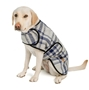 Grey and Blue Plaid Blanket Coat    dog bowls,susan lanci, puppia,wooflink, luxury dog boutique,tonimari,pet clothes, dog clothes, puppy clothes, pet store, dog store, puppy boutique store, dog boutique, pet boutique, puppy boutique, Bloomingtails, dog, small dog clothes, large dog clothes, large dog costumes, small dog costumes, pet stuff, Halloween dog, puppy Halloween, pet Halloween, clothes, dog puppy Halloween, dog sale, pet sale, puppy sale, pet dog tank, pet tank, pet shirt, dog shirt, puppy shirt,puppy tank, I see spot, dog collars, dog leads, pet collar, pet lead,puppy collar, puppy lead, dog toys, pet toys, puppy toy, dog beds, pet beds, puppy bed,  beds,dog mat, pet mat, puppy mat, fab dog pet sweater, dog sweater, dog winter, pet winter,dog raincoat, pet raincoat
