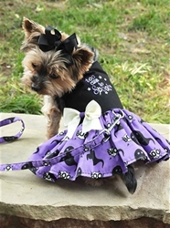 Halloween Harness Dress - Too Cute to Spook beds, puppy bed,  beds,dog mat, pet mat, puppy mat, fab dog pet sweater, dog swepet clothes, dog clothes, puppy clothes, pet store, dog store, puppy boutique store, dog boutique, pet boutique, puppy boutique, Bloomingtails, dog, small dog clothes, large dog clothes, large dog costumes, small dog costumes, pet stuff, Halloween dog, puppy Halloween, pet Halloween, clothes, dog puppy Halloween, dog sale, pet sale, puppy sale, pet dog tank, pet tank, pet shirt, dog shirt, puppy shirt,puppy tank, I see spot, dog collars, dog leads, pet collar, pet lead,puppy collar, puppy lead, dog toys, pet toys, puppy toy, dog beds, pet beds, puppy bed,  beds,dog mat, pet mat, puppy mat, fab dog pet sweater, dog sweater, dog winter, pet winter,dog raincoat, pe