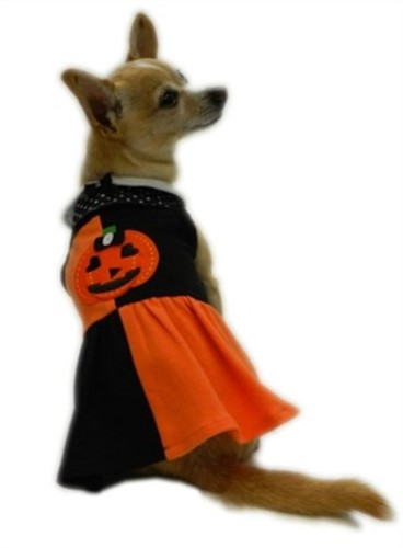 Halloween Patchwork Dress - rrc-patchwork-dressX-P4H