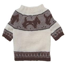 Hand Knit Doggie Sweater
