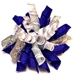 Hanukah Whirlie Dog Hair Bow - cc-whirlieF-73H