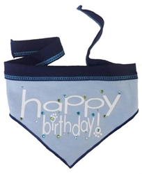 Happy Birthday Scarf for Boys or Girls  dog bowls,susan lanci, puppia,wooflink, luxury dog boutique,tonimari,pet clothes, dog clothes, puppy clothes, pet store, dog store, puppy boutique store, dog boutique, pet boutique, puppy boutique, Bloomingtails, dog, small dog clothes, large dog clothes, large dog costumes, small dog costumes, pet stuff, Halloween dog, puppy Halloween, pet Halloween, clothes, dog puppy Halloween, dog sale, pet sale, puppy sale, pet dog tank, pet tank, pet shirt, dog shirt, puppy shirt,puppy tank, I see spot, dog collars, dog leads, pet collar, pet lead,puppy collar, puppy lead, dog toys, pet toys, puppy toy, dog beds, pet beds, puppy bed,  beds,dog mat, pet mat, puppy mat, fab dog pet sweater, dog sweater, dog winter, pet winter,dog raincoat, pet raincoat