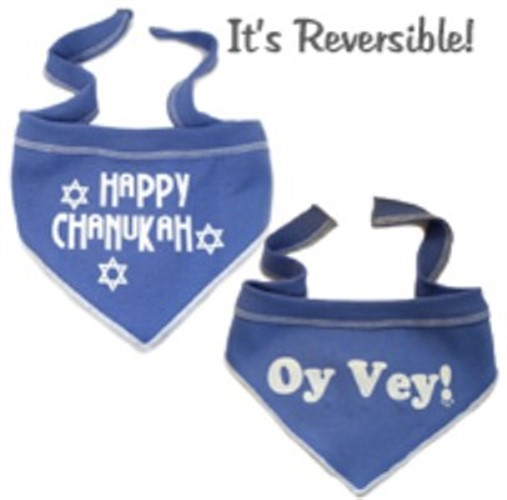 Happy Chanukah - Oy Vey! Reversible Scarf