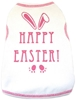 Happy Easter Dog Shirt in Pink or Blue  dog bowls,susan lanci, puppia,wooflink, luxury dog boutique,tonimari,pet clothes, dog clothes, puppy clothes, pet store, dog store, puppy boutique store, dog boutique, pet boutique, puppy boutique, Bloomingtails, dog, small dog clothes, large dog clothes, large dog costumes, small dog costumes, pet stuff, Halloween dog, puppy Halloween, pet Halloween, clothes, dog puppy Halloween, dog sale, pet sale, puppy sale, pet dog tank, pet tank, pet shirt, dog shirt, puppy shirt,puppy tank, I see spot, dog collars, dog leads, pet collar, pet lead,puppy collar, puppy lead, dog toys, pet toys, puppy toy, dog beds, pet beds, puppy bed,  beds,dog mat, pet mat, puppy mat, fab dog pet sweater, dog sweater, dog winter, pet winter,dog raincoat, pet raincoat