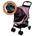 Happy Trails No Zip Pet Stroller - petgr-trails