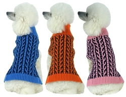 Harmonious Dual Color Weaved Heavy Cable Knit Designer Dog Sweater  pet clothes, dog clothes, puppy clothes, pet store, dog store, puppy boutique store, dog boutique, pet boutique, puppy boutique, Bloomingtails, dog, small dog clothes, large dog clothes, large dog costumes, small dog costumes, pet stuff, Halloween dog, puppy Halloween, pet Halloween, clothes, dog puppy Halloween, dog sale, pet sale, puppy sale, pet dog tank, pet tank, pet shirt, dog shirt, puppy shirt,puppy tank, I see spot, dog collars, dog leads, pet collar, pet lead,puppy collar, puppy lead, dog toys, pet toys, puppy toy, dog beds, pet beds, puppy bed,  beds,dog mat, pet mat, puppy mat, fab dog pet sweater, dog sweater, dog winter, pet winter,dog raincoat, pet raincoat, dog harness, puppy harness, pet harness, dog collar, dog lead, pet l