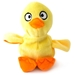 Hatchables Yellow Duck Dog Toy - fetch-duck