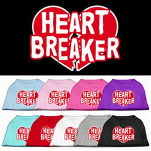 Heart Breaker Screen Print Tank - Many Colors - mir-heartbreaker