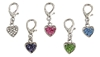 Heart  D-Ring Crystal Dog Collar Charm  dog bowls,susan lanci, puppia,wooflink, luxury dog boutique,tonimari,pet clothes, dog clothes, puppy clothes, pet store, dog store, puppy boutique store, dog boutique, pet boutique, puppy boutique, Bloomingtails, dog, small dog clothes, large dog clothes, large dog costumes, small dog costumes, pet stuff, Halloween dog, puppy Halloween, pet Halloween, clothes, dog puppy Halloween, dog sale, pet sale, puppy sale, pet dog tank, pet tank, pet shirt, dog shirt, puppy shirt,puppy tank, I see spot, dog collars, dog leads, pet collar, pet lead,puppy collar, puppy lead, dog toys, pet toys, puppy toy, dog beds, pet beds, puppy bed,  beds,dog mat, pet mat, puppy mat, fab dog pet sweater, dog sweater, dog winter, pet winter,dog raincoat, pet raincoat