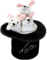 Hide A Toy Magic Hat with Three Rabbits