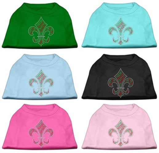 Holiday Fleur de Lis Tank Shirt -More Colors - mir-fleurdelis-shirt