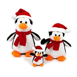Holiday Penguin Dog Toy