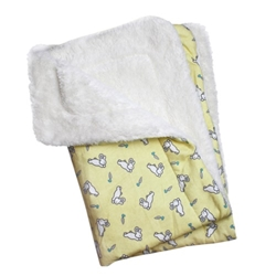 Hopping Bunny Fleece Blanket Roxy & Lulu, wooflink, susan lanci, dog clothes, small dog clothes, urban pup, pooch outfitters, dogo, hip doggie, doggie design, small dog dress, pet clotes, dog boutique. pet boutique, bloomingtails dog boutique, dog raincoat, dog rain coat, pet raincoat, dog shampoo, pet shampoo, dog bathrobe, pet bathrobe, dog carrier, small dog carrier, doggie couture, pet couture, dog football, dog toys, pet toys, dog clothes sale, pet clothes sale, shop local, pet store, dog store, dog chews, pet chews, worthy dog, dog bandana, pet bandana, dog halloween, pet halloween, dog holiday, pet holiday, dog teepee, custom dog clothes, pet pjs, dog pjs, pet pajamas, dog pajamas,dog sweater, pet sweater, dog hat, fabdog, fab dog, dog puffer coat, dog winter ja