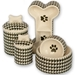 Houndstooth Bowl & Treat Jar Series - crcomf-hound