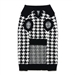Houndstooth Dog Sweater  - dgo-houndstooth-sweater