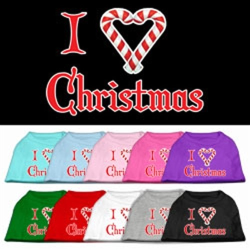 I Heart Christmas  Dog Shirt - More Colors - mir-heart-shirt