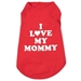 I Love My Mommy Dog Tee   - wd-mommy-tee