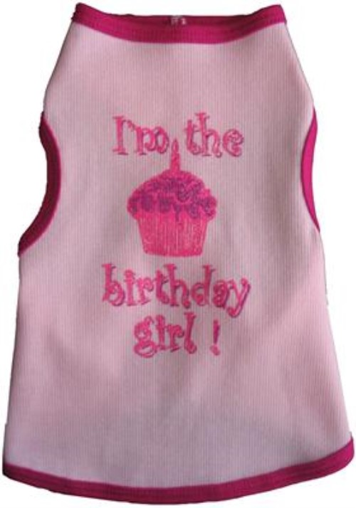 I'm The Birthday Girl Tank Shirt - iss-birthdaygirl