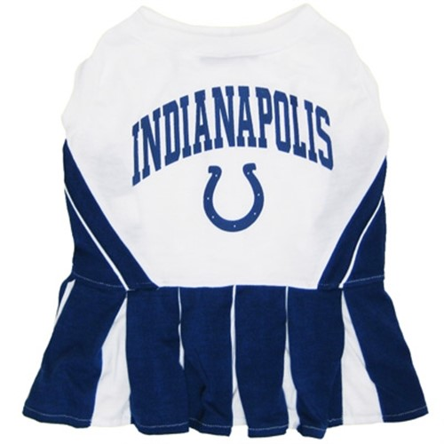 Indianapolis Colts Cheerleader Dog Dress - dn-indian