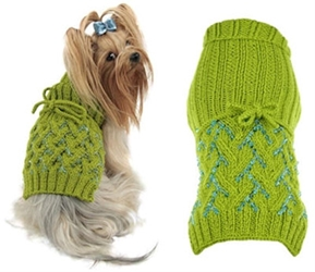 Innovation Hand Beaded Dog Sweater