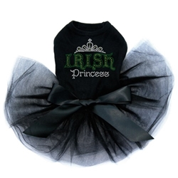 Irish Princess Tutu Dress in Many Colors   wooflink, susan lanci, dog clothes, small dog clothes, urban pup, pooch outfitters, dogo, hip doggie, doggie design, small dog dress, pet clotes, dog boutique. pet boutique, bloomingtails dog boutique, dog raincoat, dog rain coat, pet raincoat, dog shampoo, pet shampoo, dog bathrobe, pet bathrobe, dog carrier, small dog carrier, doggie couture, pet couture, dog football, dog toys, pet toys, dog clothes sale, pet clothes sale, shop local, pet store, dog store, dog chews, pet chews, worthy dog, dog bandana, pet bandana, dog halloween, pet halloween, dog holiday, pet holiday, dog teepee, custom dog clothes, pet pjs, dog pjs, pet pajamas, dog pajamas,dog sweater, pet sweater, dog hat, fabdog, fab dog, dog puffer coat, dog winter jacket, dog col