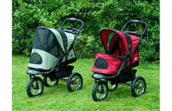 Jogger Pet Stroller -Burgundy or Sage