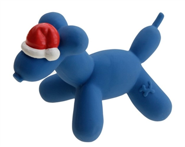 Jungle Balloon Christmas Dog Squeaker Toy