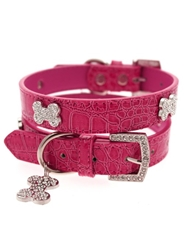 Legally Blonde Diamante Collar & Lead Set