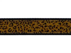 Leopard Collar, Lead & Harness 3/4 inch