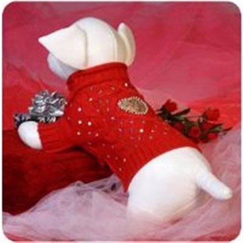 Let Me Call Your Sweetheart Dog Sweater - VIP-sweetheartX-13M