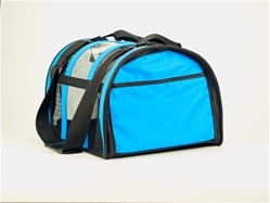 Light Blue Puppy Shell Carrier