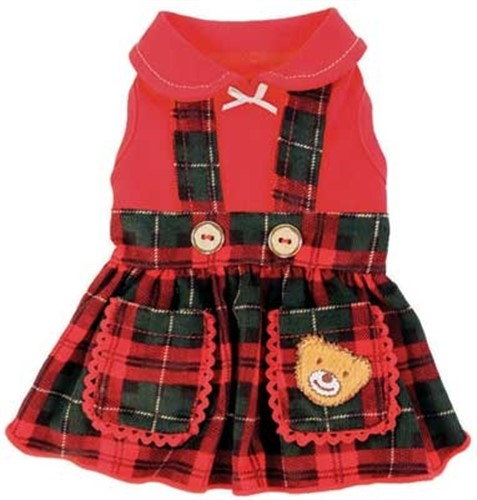 Lil Teddy Dog Dress - rrc-teddy-dressX-15R