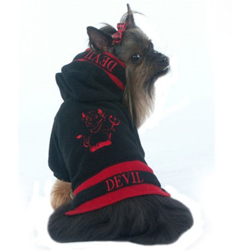Little Devil Dog Hoodie - ccc-devilX-JUX