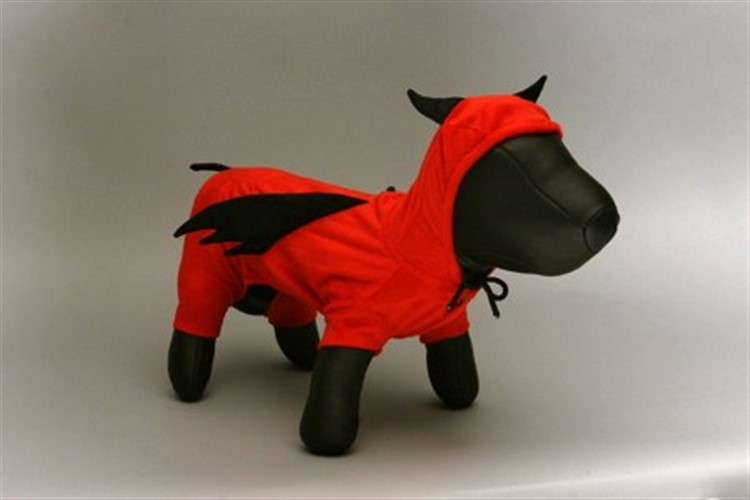 Little Devil Pajama Pals Dog Costume