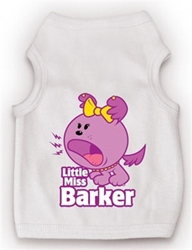 Little Miss Barker Dog Tank Shirt
