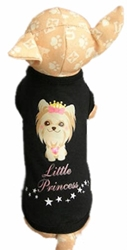Little Yorkie Princess Dog Shirt