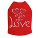 Love Hearts Dog Shirt in Many Colors   - dic-lovehearts
