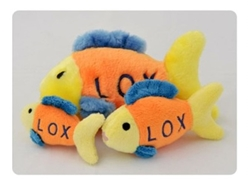 Lox the Fish Dog Toy
