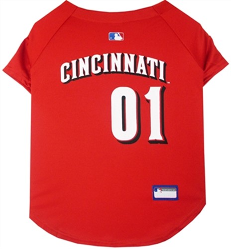MLB Sports Jerseys - Cincinnati Reds Mesh