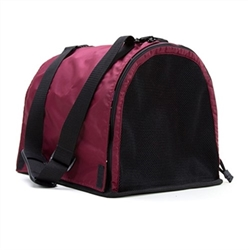 Maroon Puppy Shell Carrier
