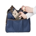 Metro 2 Carrier in Navy With Tan Trim - pet-metnavy